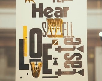 "Poster ""6 Senses"""