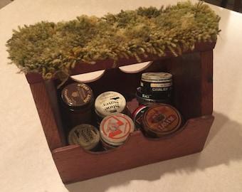 Vintage Handmade Shoe Shine Box