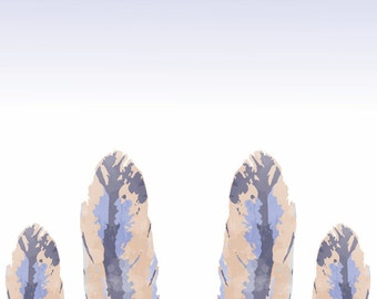iPhone 6 Wallpaper (feather design)