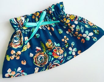 Simple {Emi} swing skirt