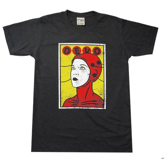 Devo American rock band unisex t shirt
