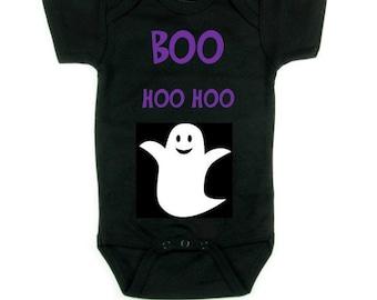 BOO Hoo Hoo Halloween Infant Onesie