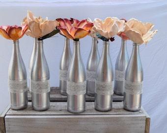 Vintage Silver Bottles