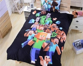 Minecraft Bedding #1 - Duvet Cover Set