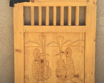Wood gate, Patio gate