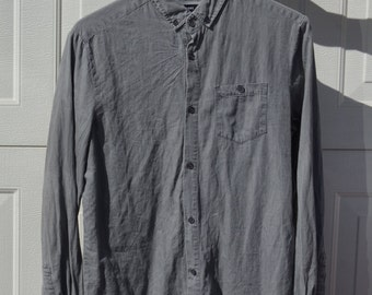 Grey Cotton On Long Sleeved Shirt