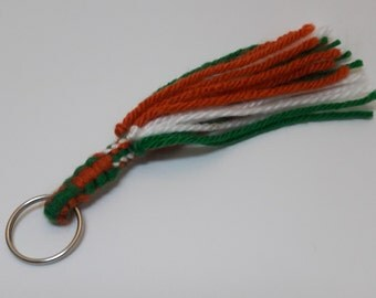Key Chain, Yarn, Handmade, Ireland Style