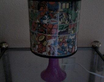 Lamp super heroes
