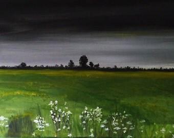 Overcast Cawston Sky Norfolk