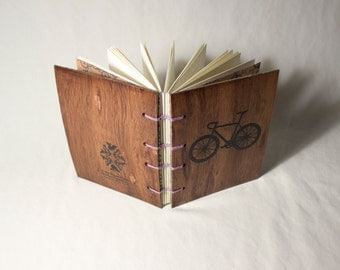Wooden Bicycle Journal