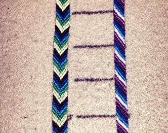 Chevron (12 string)/Candy Stripe (10 string) Bracelets (Separates)