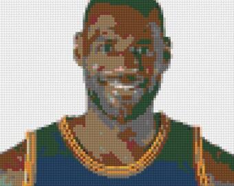 lego mosaic custom