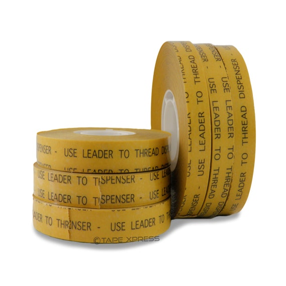"1/2"" (6 rolls) ATG Adhesive Transfer Tape (Fits 3M Gun) For Photo Crafts & Scrapbooking (6 rolls) - Free Shipping Within USA"