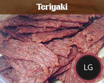 Teriyaki - Large  (All Natural Beef Jerky or All Natural Turkey Jerky)