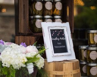 Custom Wedding Jar Labels