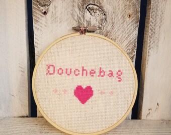Douchebag Cross Stitch