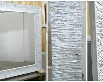 Mirror frame and canvas