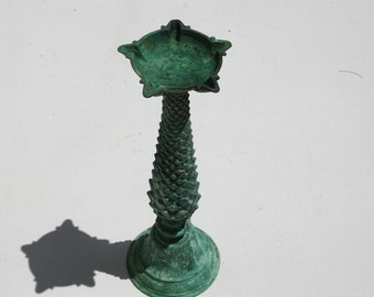 Ancient Oil Lamp From Marakesh