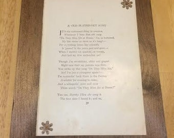 Poetry Wall Decor