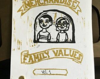 Merchandise Family Values vol. 1 Zine