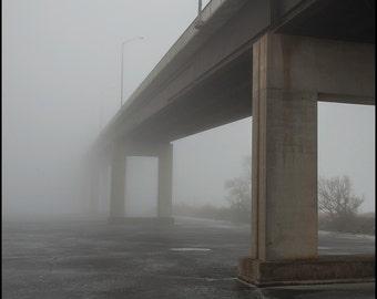 Fogged Out Bridge 1