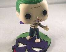 Custom base for Joker Funko *** Funko figure NOT included ***