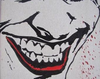 The Joker, hand painted