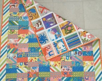 """Baby """"Tummy Time"""" Quilt"""