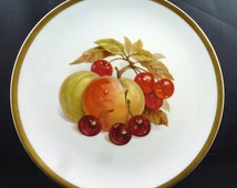 "PMR Bavaria Plate, Jaeger Co., E&R Golden Crown, ""Harvest"" Series"