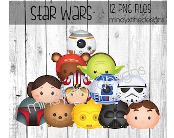 Star Wars Tsum Tsum Clipart