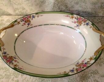 "Vintage Noritake ""Pendarvis""serving bowl -Japan- beautiful"