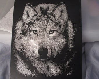Wolf face Silver