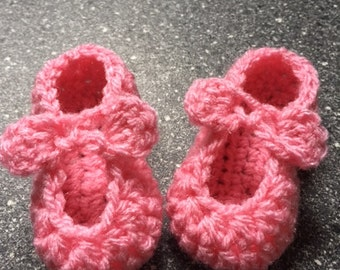 baby ballerina slippers with bows