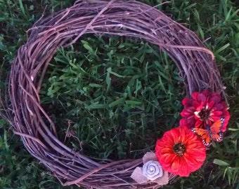 Fall Wreath, Grapevine Wreath