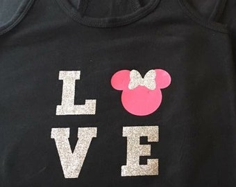 Love Minnie Mouse t-shirt