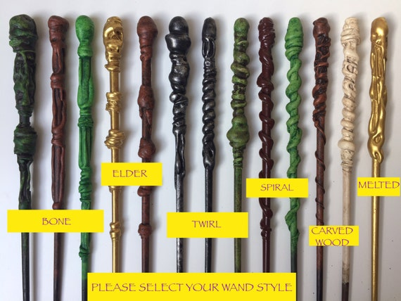 Harry potter wands custom wand create your by for Harry potter wand owners
