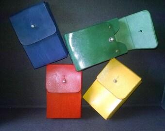 Cigarette case leather