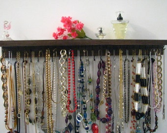 Necklace Organizer, Necklace Hanger, Large.