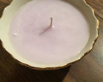 Lenox bowl candle
