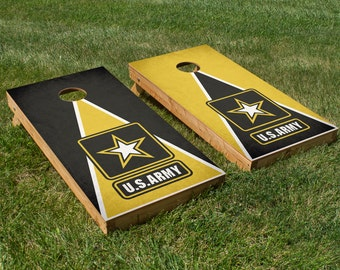 Army Cornhole Board Set