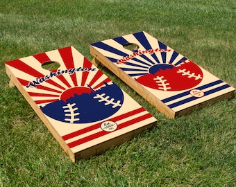Washington Nationals Cornhole Board Set