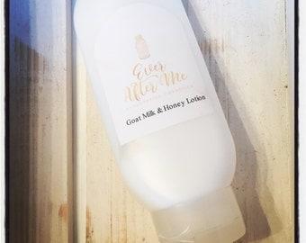 Custom Scented Luxury Goat Milk & Honey Lotion 8oz
