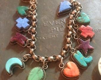 JOAN SLIFKA Sterling Silver Charm Bracelet (NOW Reduced!