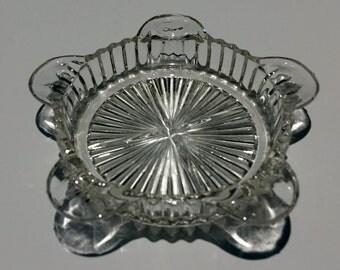Vintage glass ashtray - EP0048