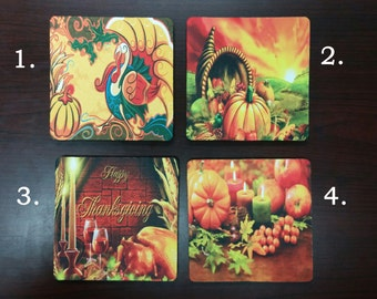 Thanksgiving Coasters