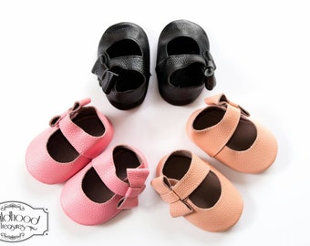 Mary Jane Genuine Leather Baby Shoes