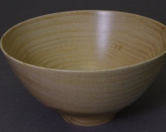 Palace Bowl in Splated English Ash
