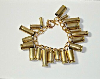 Bullet Jewelry- Mixed Caliber Aluminum Bracelet