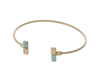 Turquoise Accent Bangle