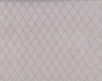 Sweat fabric, quilted look,grey fabric, quilted sweatshirt jersey,steppsweat fabric,clothing fabric,fabric by yard/half yard,european fabric